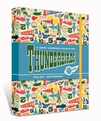 Thunderbirds Paterned Notebook