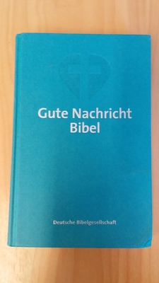 German Bible Today's Hardcover Green
