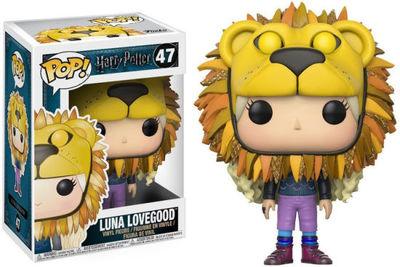Luna with Lions Head Pop! Vinyl - Harry Potter