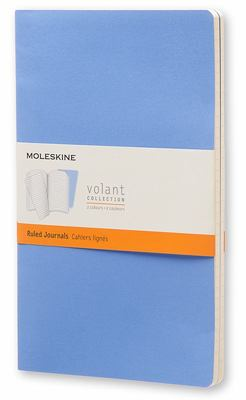 Volant Blue Ruled Large Notebook pk2 - Moleskine