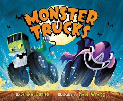 Monster Trucks Board Book