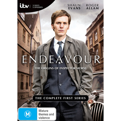Endeavour Complete First Series