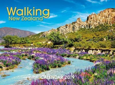 Walking New Zealand 2019 Calendar