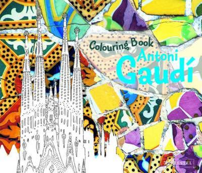 Colouring Book Antoni Gaudi