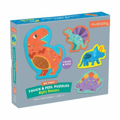 Mighty Dinosaurs Touch & Feel Puzzle