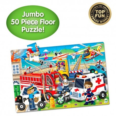 Emergency Rescue Jumbo floor Puzzle