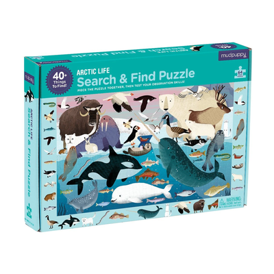 Arctic Life Search and Find Puzzle