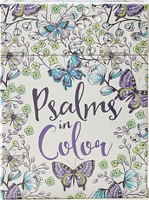 Psalms In Colour Colouring Cards