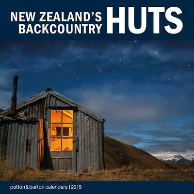 New Zealand's Backcountry Huts 2020 Calendar