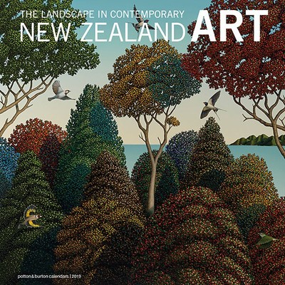 The Landscape in Contemporary NZ Art 2019 Calendar