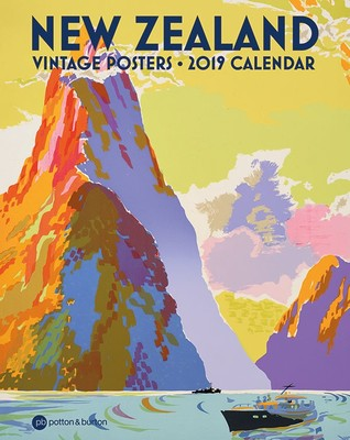 New Zealand Vintage Posters 2019 Calendar