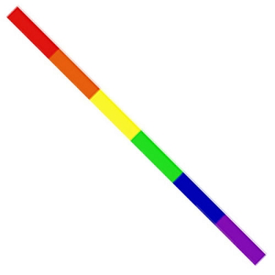 Sticker – Rainbow Strip Reflective