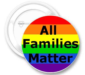 "Badge – All Families Matter (2.25"")"
