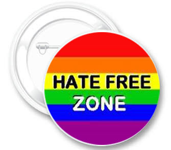 Badge – Hate Free Zone