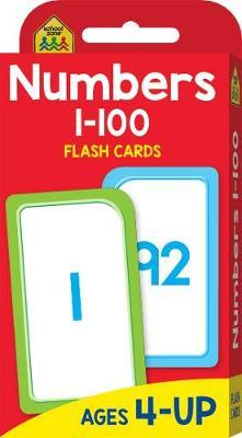 Numbers 1-100 (School Zone Flashcards)