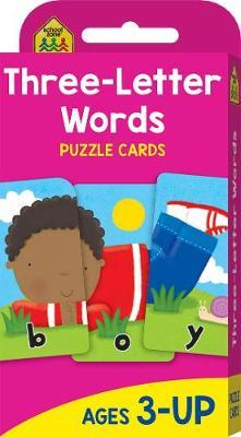 Three Letter Words (School Zone Flashcards)