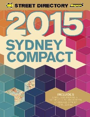 Sydney Compact Street Directory 27th 2015
