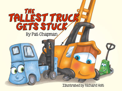 The Tallest Truck Gets Stuck (Board Book)