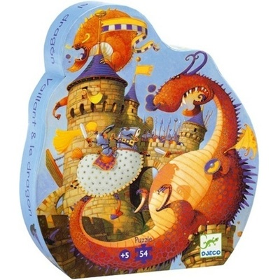 Large djeco valiant and the dragon puzzle 3