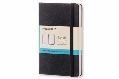 Classic Dot Grid Black Pocket Notebook - Moleskine