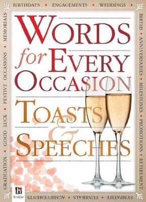 Words for All Occasions: Toasts and Speeches Counterpack 24 2
