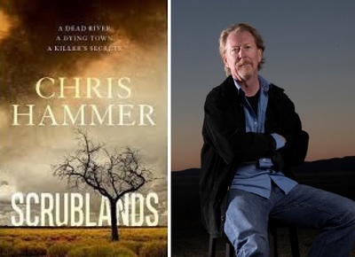 Author of Scrublands, Chris Hammer in conversation, Monday 3rd September at 6.15pm for 6.30pm