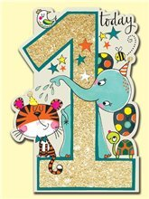 1 Today Animals card