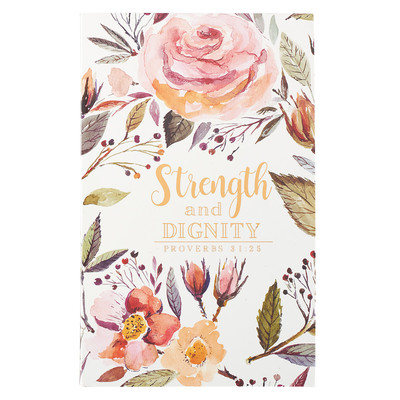 Journal Strength and Dignity Flexicover