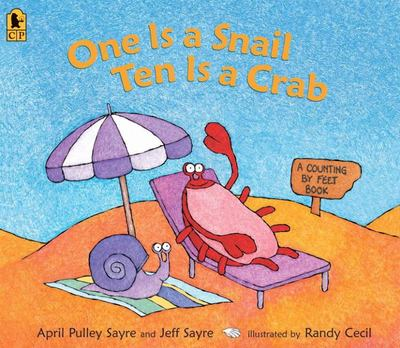 One Is a Snail, Ten Is a Crab (Big Book)