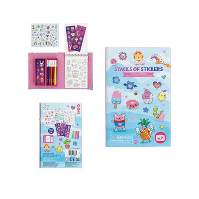Little Cuties: Stacks of Stickers Set
