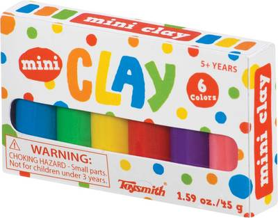 Mini Clay (6 colours)