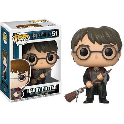 Pop! Harry with Firebolt - Harry Potter