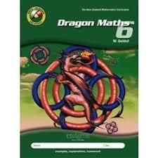 Dragon Maths 6 (Year 8) - 4th Edition (2018)
