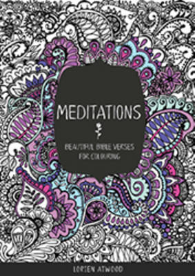 Meditations: Beautiful Bible Verses for Colouring