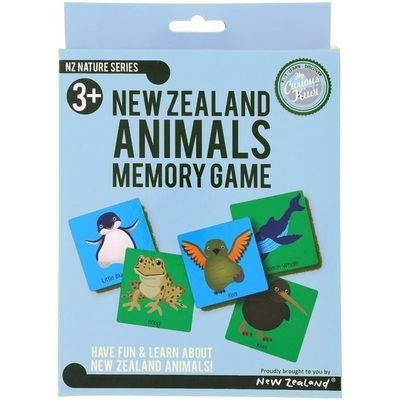 New Zealand Animals Memory Game