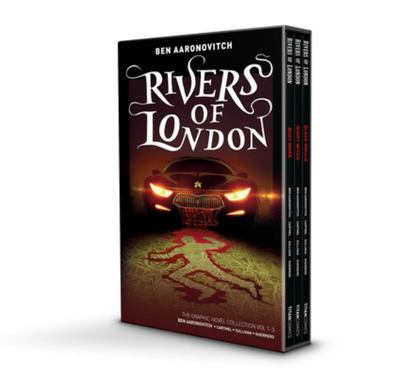 Rivers of London graphic novels - volumes #1-3 boxed