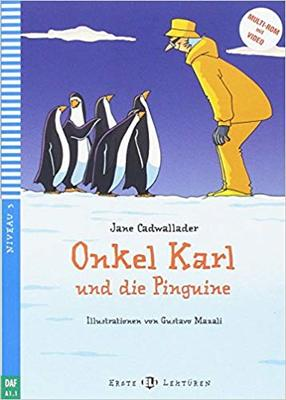 Large german reader penguin