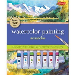 Watercolor Painting/Acuarelas: A Complete Painting Kit for Beginners/Un Kit Completo Para Principiantes