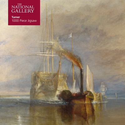 National Gallery - Turner: Fighting Temeraire Jigsaw - 1000 Piece Jigsaw