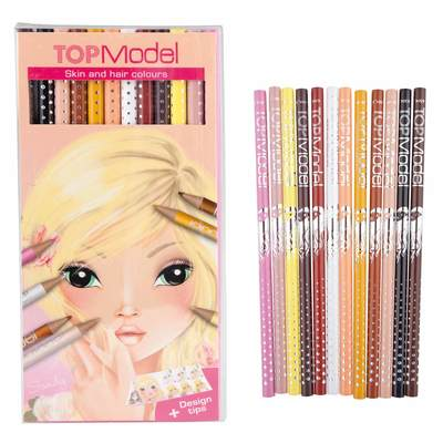 046304 Top Model Natural Coloured Pencil Set