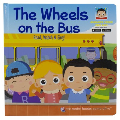The Wheels On the Bus (Video Board Book)