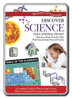 Discover Science: Educational Tin Set (Wonders of Learning)