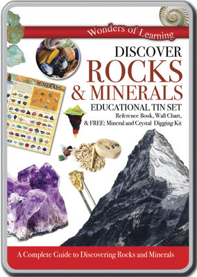 Discover Rocks & Minerals: Educational Tin Set (Wonders of Learning)