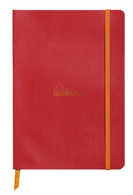 Rhodiarama A5 Softcover Dot Grid Notebook - Red