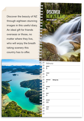 Discover NZ 2019 Diary