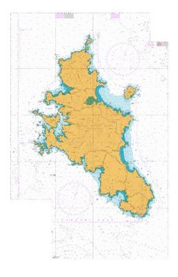 Great Barrier Island Marine Map