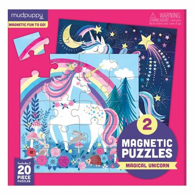 Magical Unicorn (2 Magnetic Puzzles)