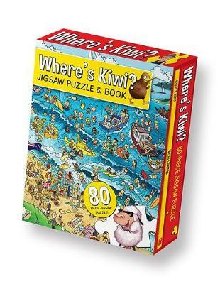 Where's Kiwi? Jigsaw Puzzle and Book