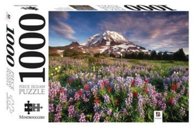 Mount Rainier National Park, Washington: 1000-Piece Jigsaw Puzzle Mindbogglers