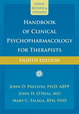 8th Edition Handbook of Clinical Psychopharmacology for Therapists